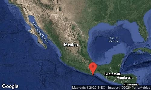 Se registra sismo en México, magnitud  7.5