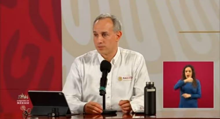 Seguimos viendo casos porque la epidemia continúa, irreal pensar que se puede detener: Hugo López Gatell