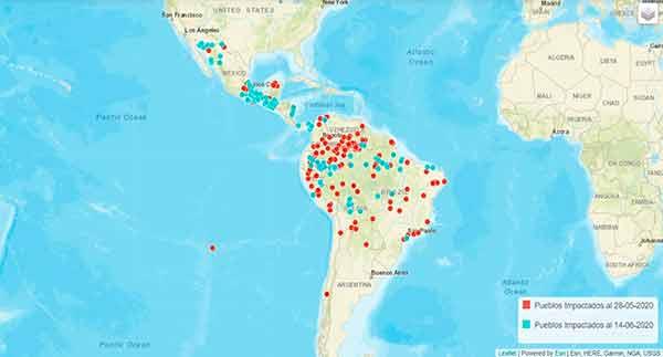 Mapean universitarios COVID-19 en pueblos Indígenas y Negros de América Latina