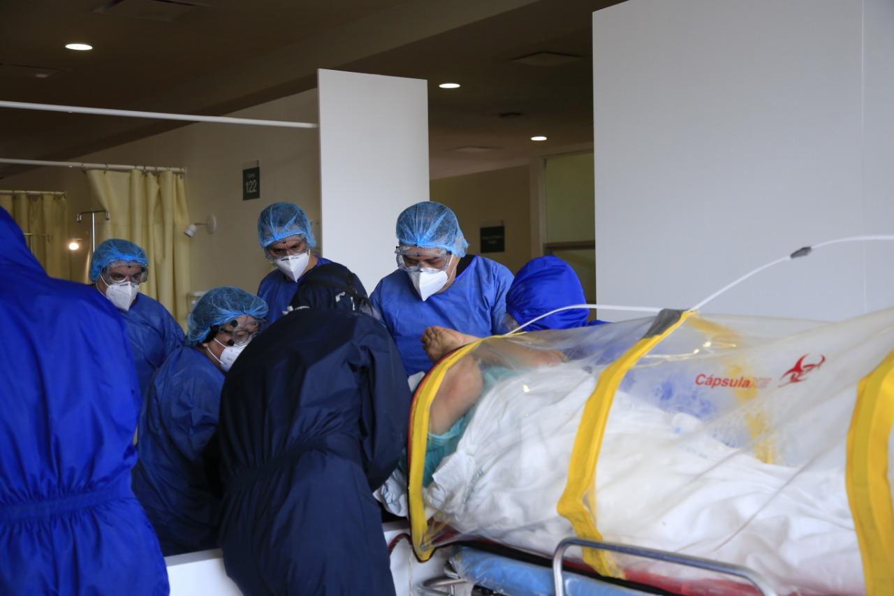 Más de 16 mil profesionales de la salud se desplegaron a nivel nacional para atender emergencia sanitaria por COVID-19: IMSS