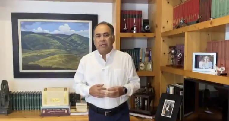 Héctor Astudillo da positivo a COVID-19