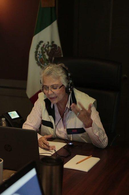 SEGOB y embajada del Reino Unido en México trabajos  para atender violencia contra niñas y mujeres