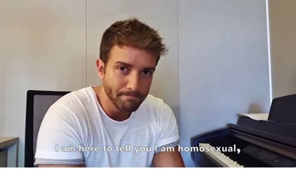Mediante un emotivo video, Pablo Alborán hace pública su homosexualidad