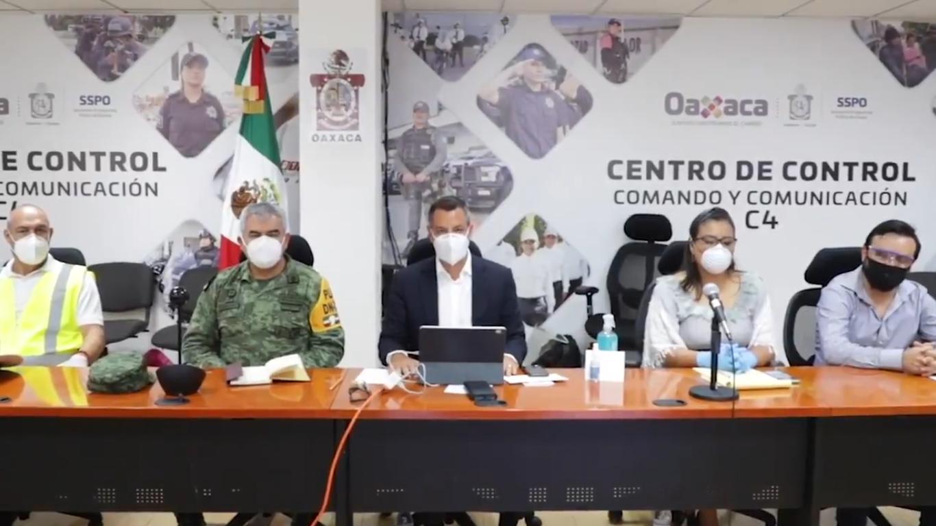 Gobernador de Oaxaca anuncia la instalación del consejo de Protección y Seguridad