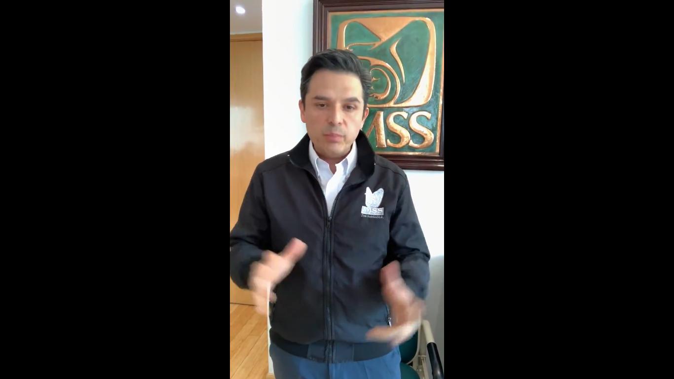 Zoé Robledo, Director General del IMSS, responde a las Fake News