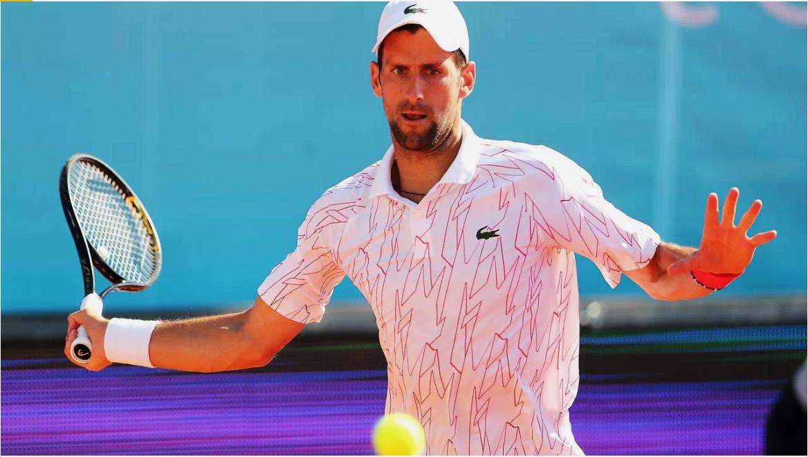 Novak Djokovic da positivo de Covid-19 durante la organización del Adria Tour