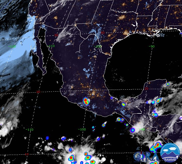 Se esperan lluvias en la Cuidad de México