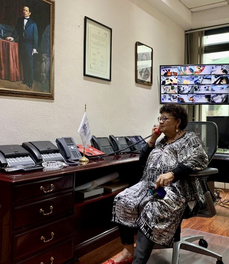Ernestina Godoy Ramos trabajará con la Fiscalía General de la República en la investigación al atentado de Omar Garcia Harfuch