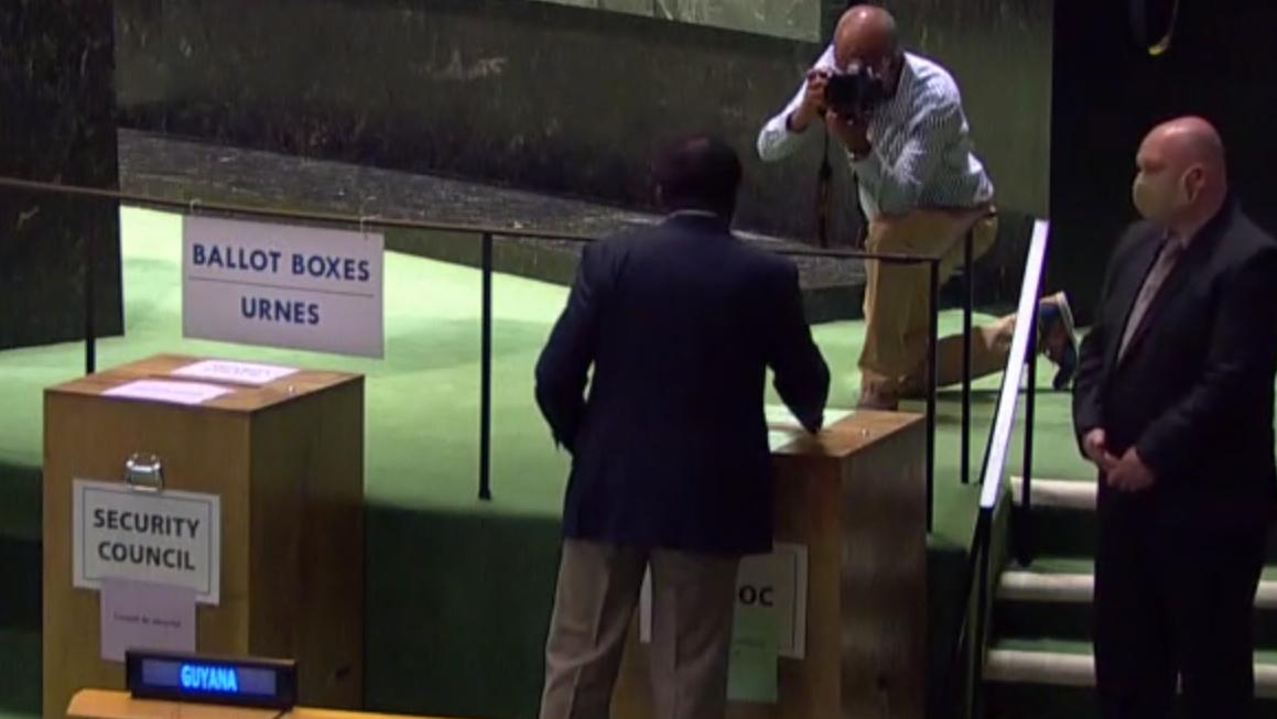 México fue electo hoy como miembro no permanente del Consejo de Seguridad de la ONU