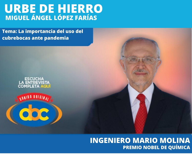 """""""Ya sabemos lo suficiente para tomar medidas precautorias"""": Mario Molina"""