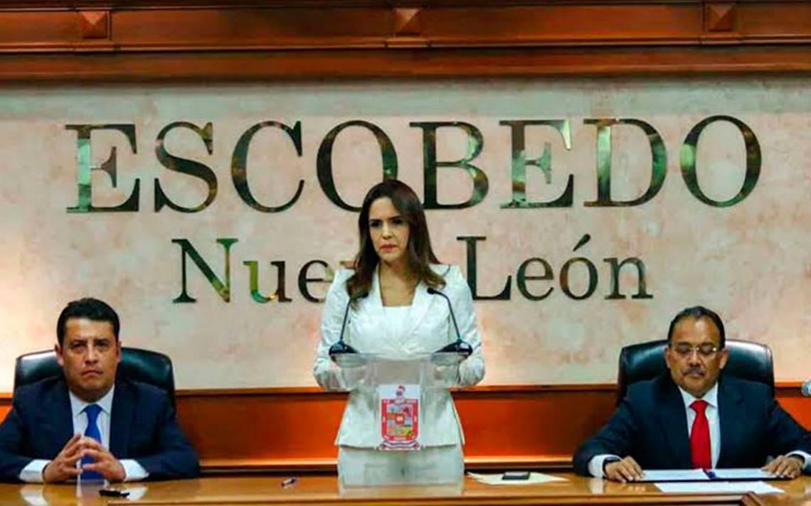 Alcaldesa de Escobedo, Nuevo León, da positivo a COVID-19