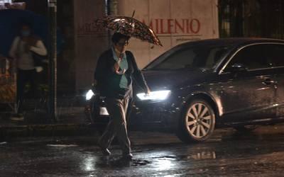 Se activa alerta amarilla por aproximación de lluvias en 6 alcaldías