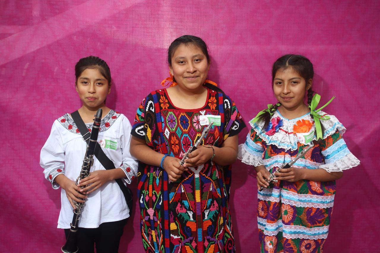 Madres trabajadoras indígenas recibirán apoyo para el cuidado de sus hijos