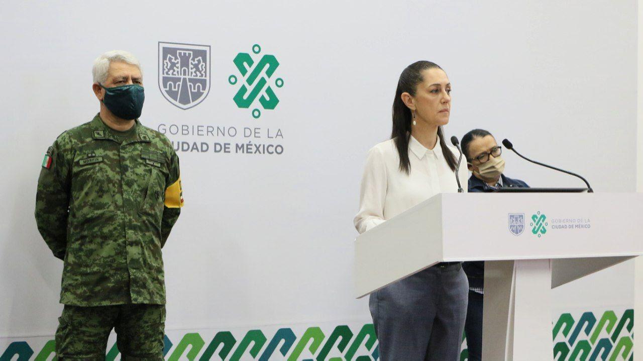 Se garantiza seguridad y paz de los habitantes de la Ciudad de México: Cluadia Sheinbaum