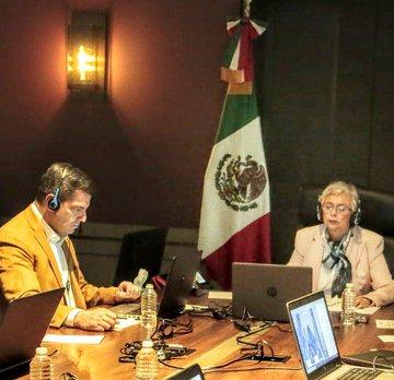 Continúa diálogo entre gobierno federal y Conago para reactivación económica en el marco de la entrada en vigor del T-MEC