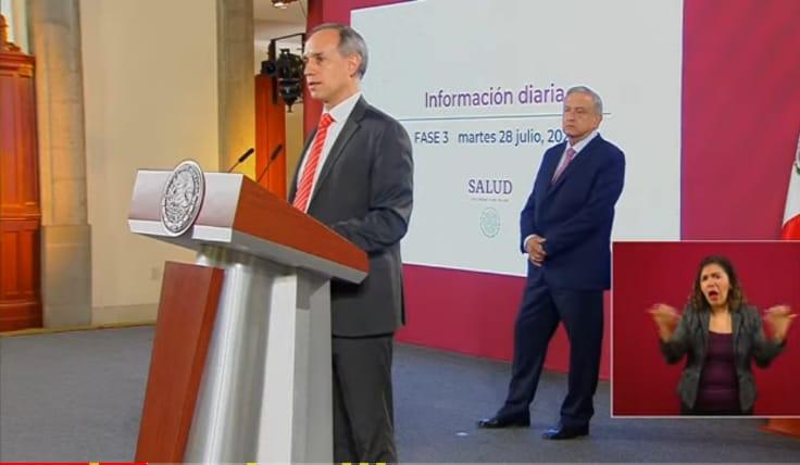 Se ha reducido la velocidad a la que crece la epidemia de Covid 19 en el país: López Gatell