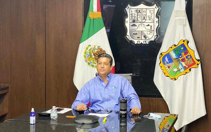Gobernador de Tamaulipas, Francisco Cabeza de Vaca dio positivo a Covid 19