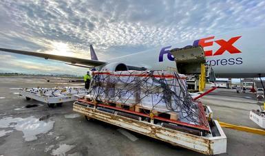 Arriban a México desde Nevada veinte nuevos ventiladores para atención a pacientes COVID-19