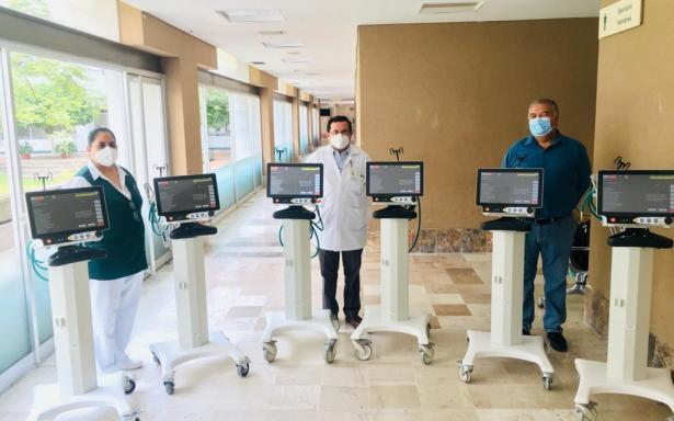 IMSS envía seis ventiladores para apoyar a pacientes con COVID-19 en Tabasco
