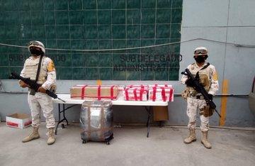 Ejército Mexicano asegura más de dos millones y medio de dólares en Tijuana, Baja California.