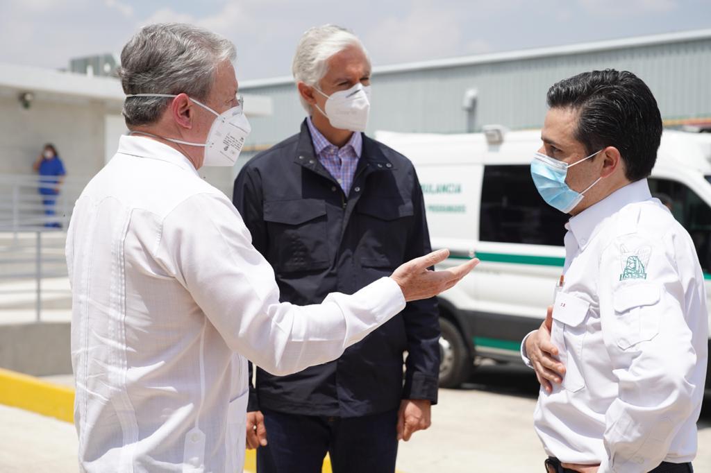 Módulo Hospitalario Temporal en Tlalnepantla garantiza mayor atención médica para COVID-19