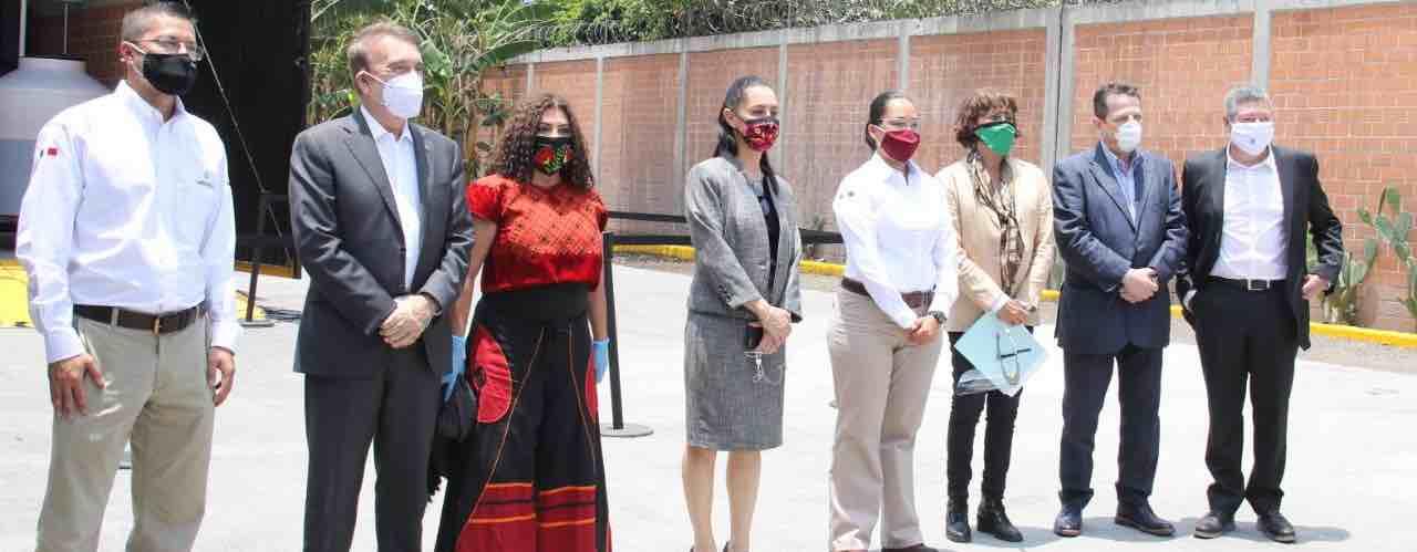 Inaugura IPN y el Gobierno de la CDMX Planta de Biodiésel en la Central de Abasto