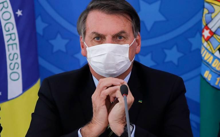 Presidente de Brasil da positivo a COVID-19 de nuevo