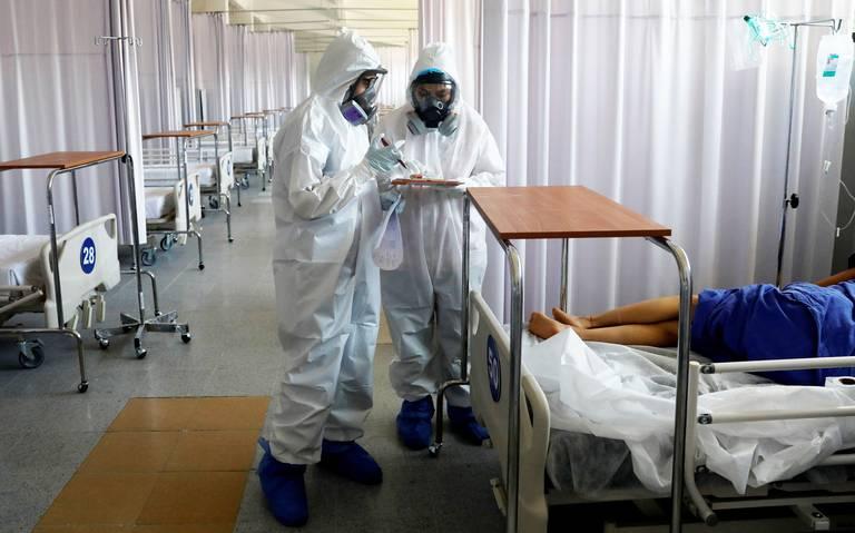 Registran saturación de hospitales COVID-19 en Yucatán y San Luis Potosí