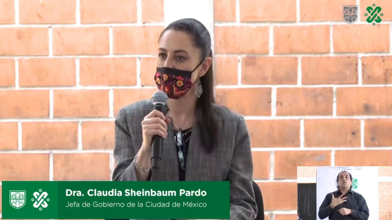 Sheinbaum informa que la Ciudad de México continua en semáforo naranja la próxima semana