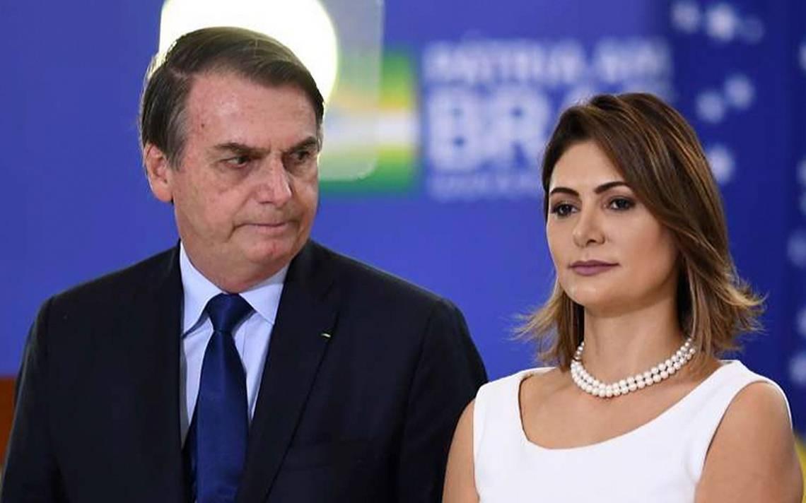 Esposa de Jair Bolsonaro, presidente de Brasil, da positivo a COVID-19
