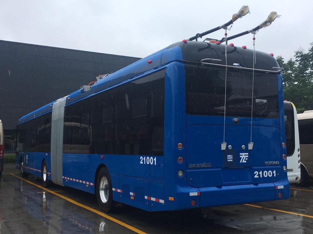 130 Unidades de trolebús y 97 autobuses de RTP para la CDMX