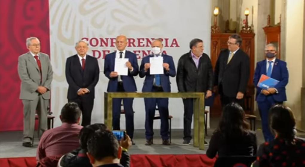 Firma el presidente Acuerdo  con la  UNOPS y la OMS para compra de medicamentos y vacunas en el extranjero.