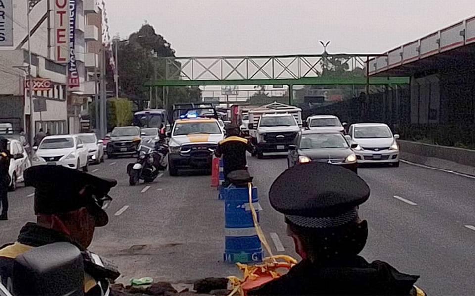 Concluyen reparación de fuga en calzada de Tlalpan