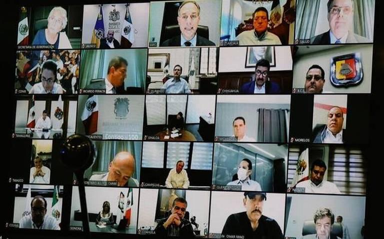 Cinco gobernadores de México han dado positivo a COVID-19