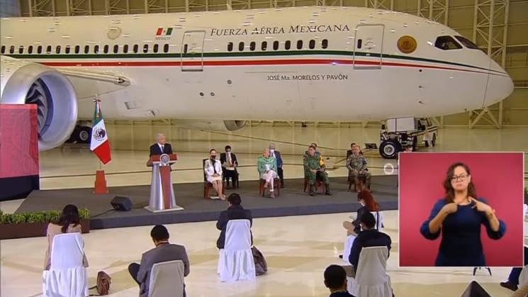 150 millones de pesos, el costo de mantenimiento anual del Avión Presidencial