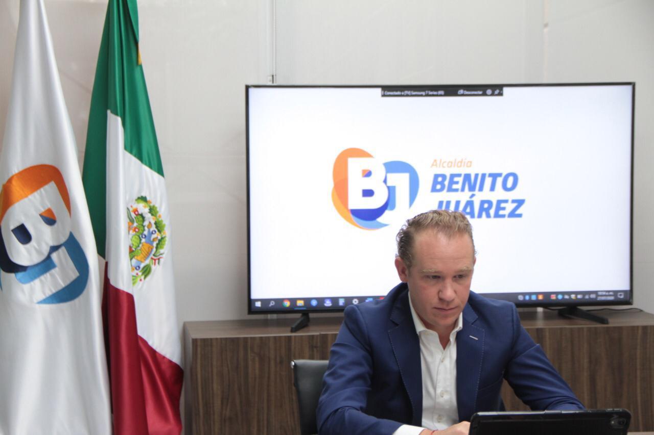 """Presenta Santiago Taboada """"Salario Solidario para Trabajadores de Benito Juárez"""""""