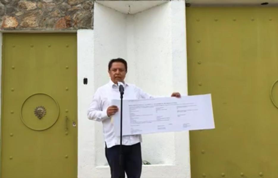 Pablo Amílcar Sandoval aclara información sobre casa en Acapulco y su patrimonio