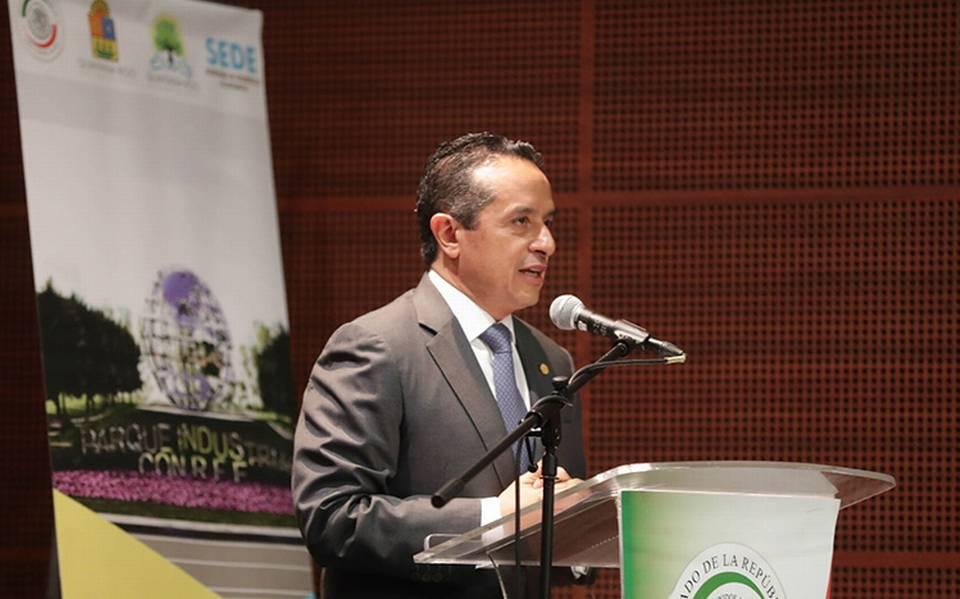 Gobernador de Quintana Roo da positivo a COVID-19