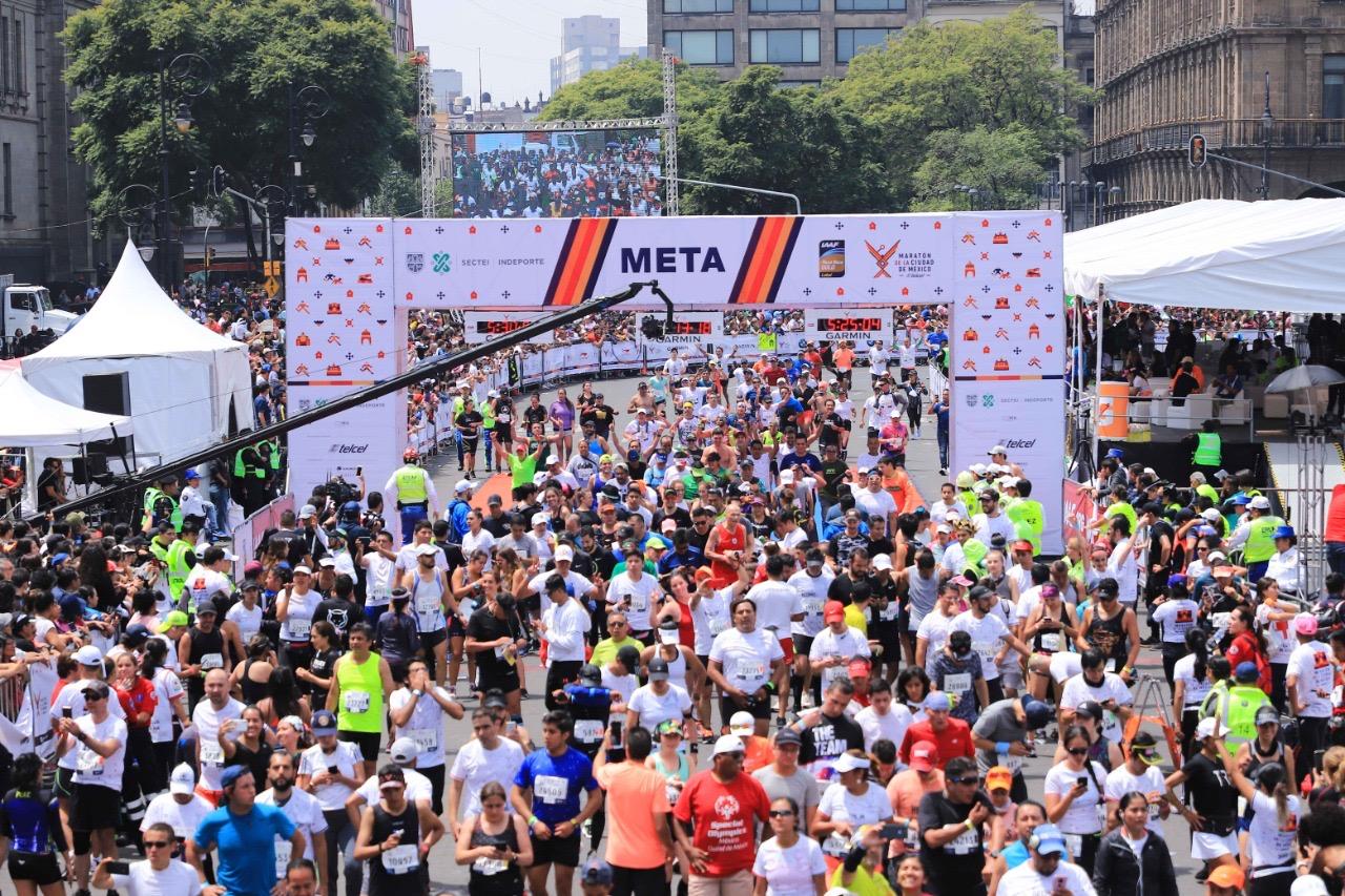 Se cancelan Maratón y Medio Maratón de  la Ciudad de México