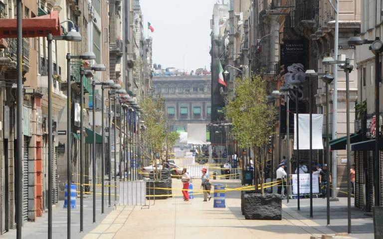 Comercios del Centro Histórico cerrados este fin de semana