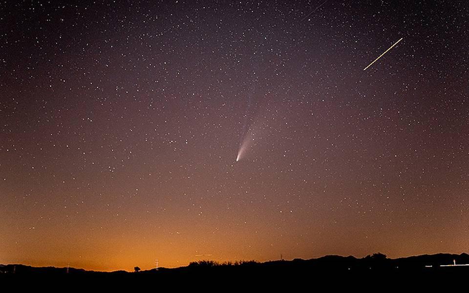 Hoy es el día que se verá el cometa Neowise