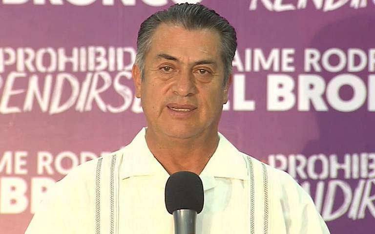 Gobernador de Nuevo León confirma que no habrá toque de queda