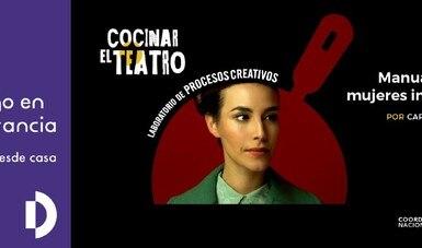 El reto de llevar la vida de Simone de Beauvoir a escena llega a la plataforma Cocinar el teatro