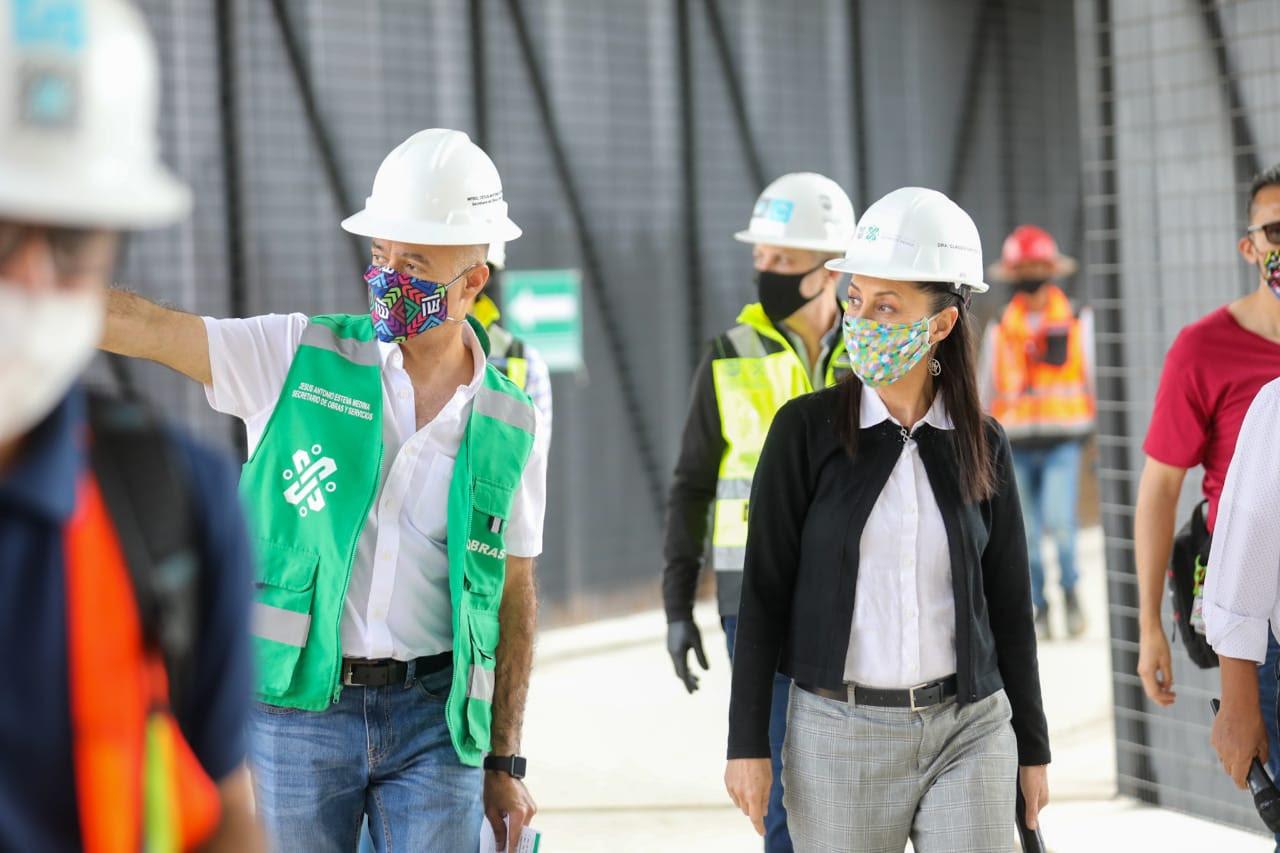 Obras de la Línea 1 del Cablebús llevan un 75% de avance: Gobierno de la Ciudad de México