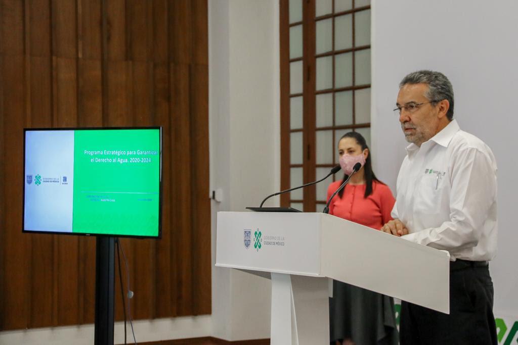 Presenta Gobierno de la Ciudad de México Programa para Garantizar el Derecho al Agua