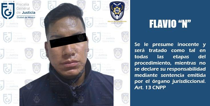 Fiscalía de la Ciudad de México detiene a un hombre buscado por probable delito de violación