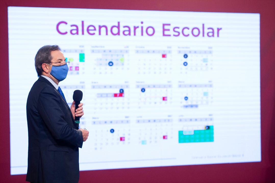 Presenta SEP Calendario Escolar oficial de Educación Básica 2020-2021