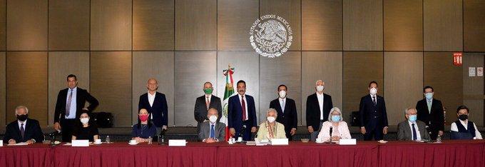 Acuerdan Gobierno de México, jefa de gobierno y gobernadores continuar trabajo coordinado ante la pandemia