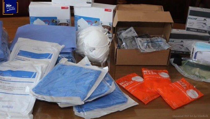 Entrega la UNAM más de 105 mil kits para protección de enfermeras y enfermeros