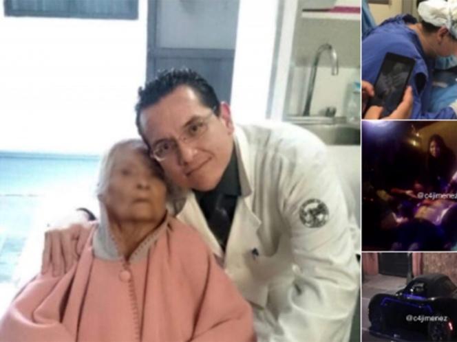 #JusticiaparaRubén justicia para médico de Benito Juárez